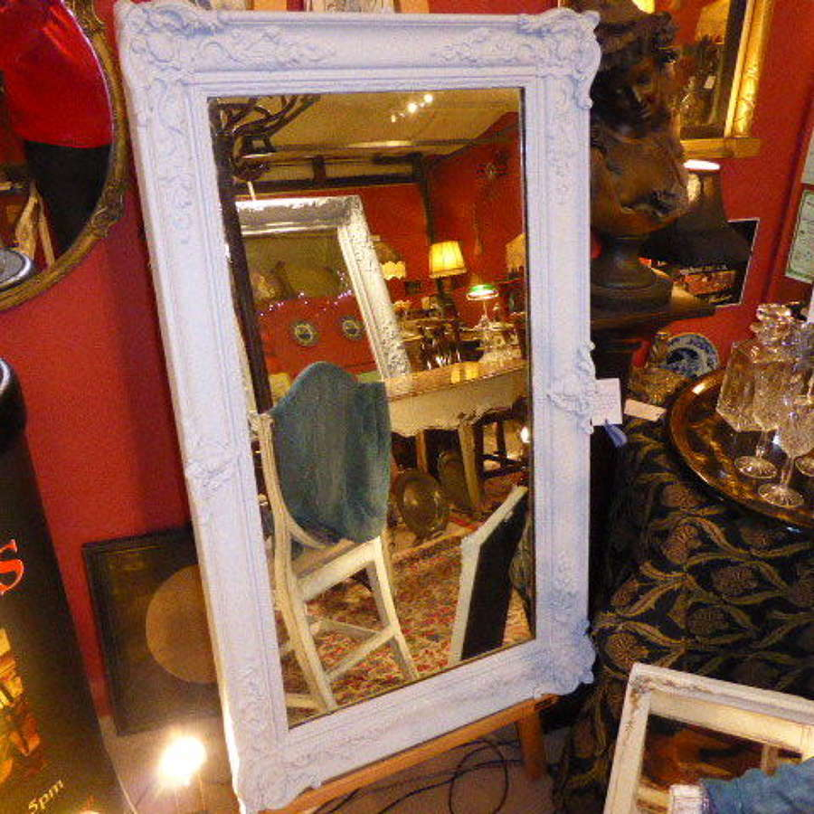 Large Victorian rectangular mirror
