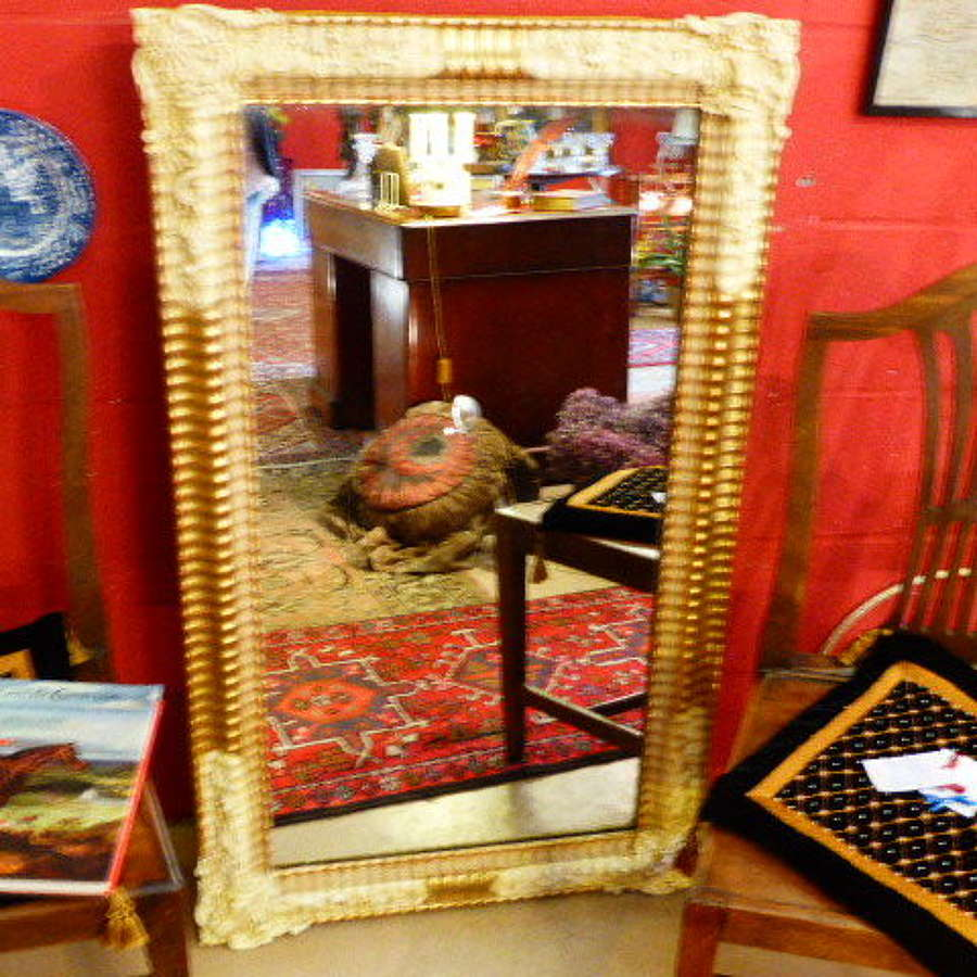 Stylish 19th century French Giltwood Mirror c1860