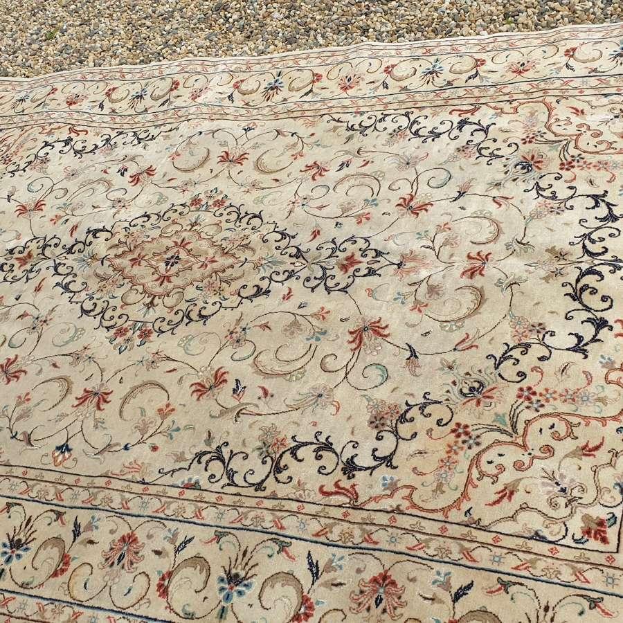 Beautiful Period Kashan Carpet