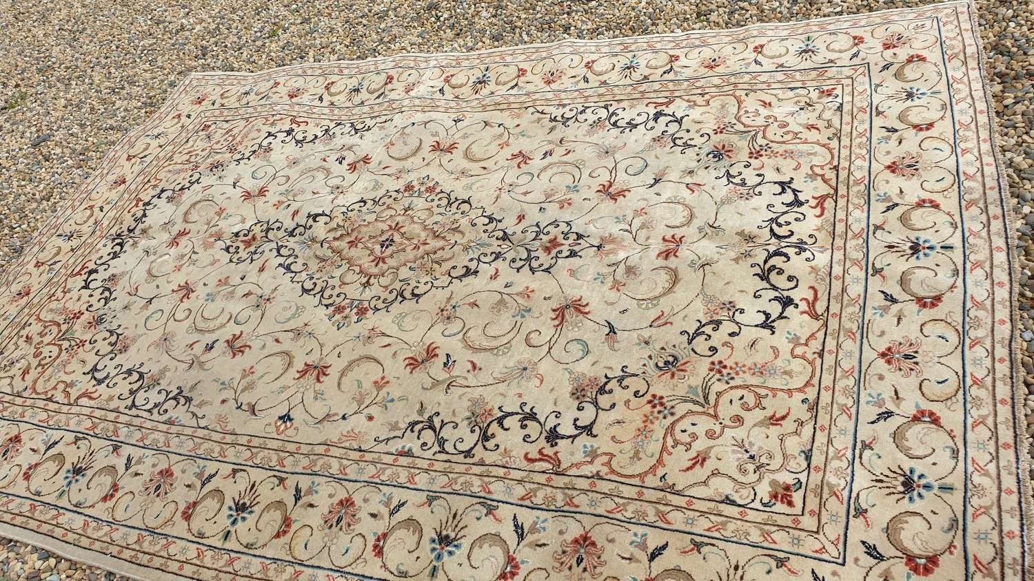 Beautiful Period Kashan Carpet