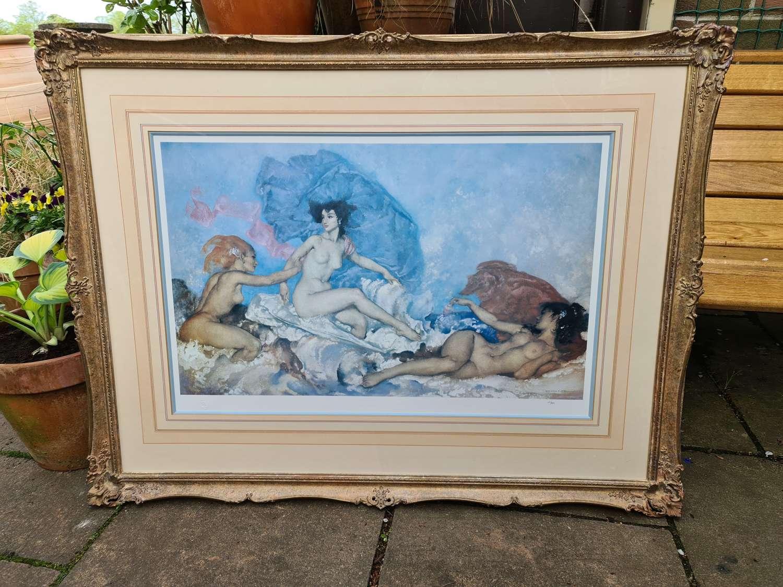 Wonderful Framed Limited Edition Russell Flint Print