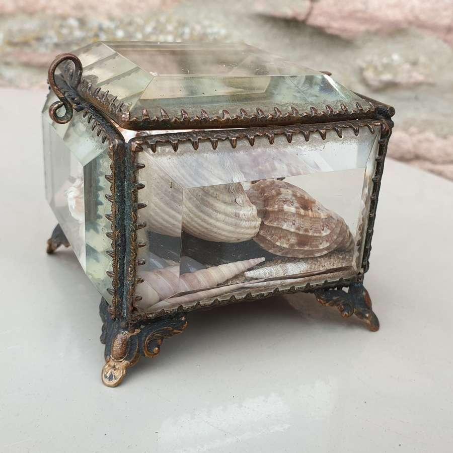 19th Century French Gilt Trinket Box