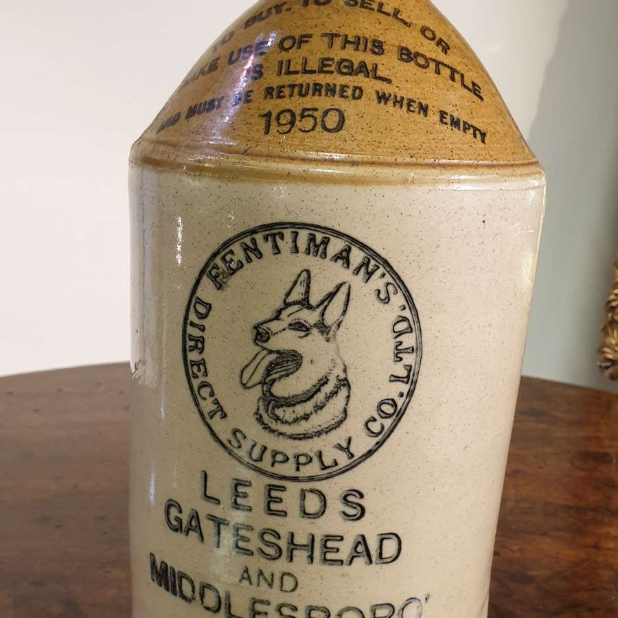 "Fentimans ""Old Grey Hens"" Original Stone Drinks Jar"