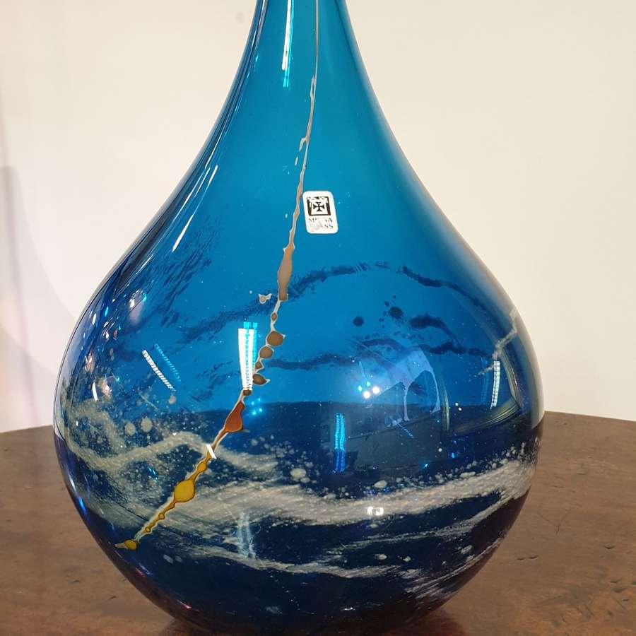 Mdina Glass 'Onion' Vase