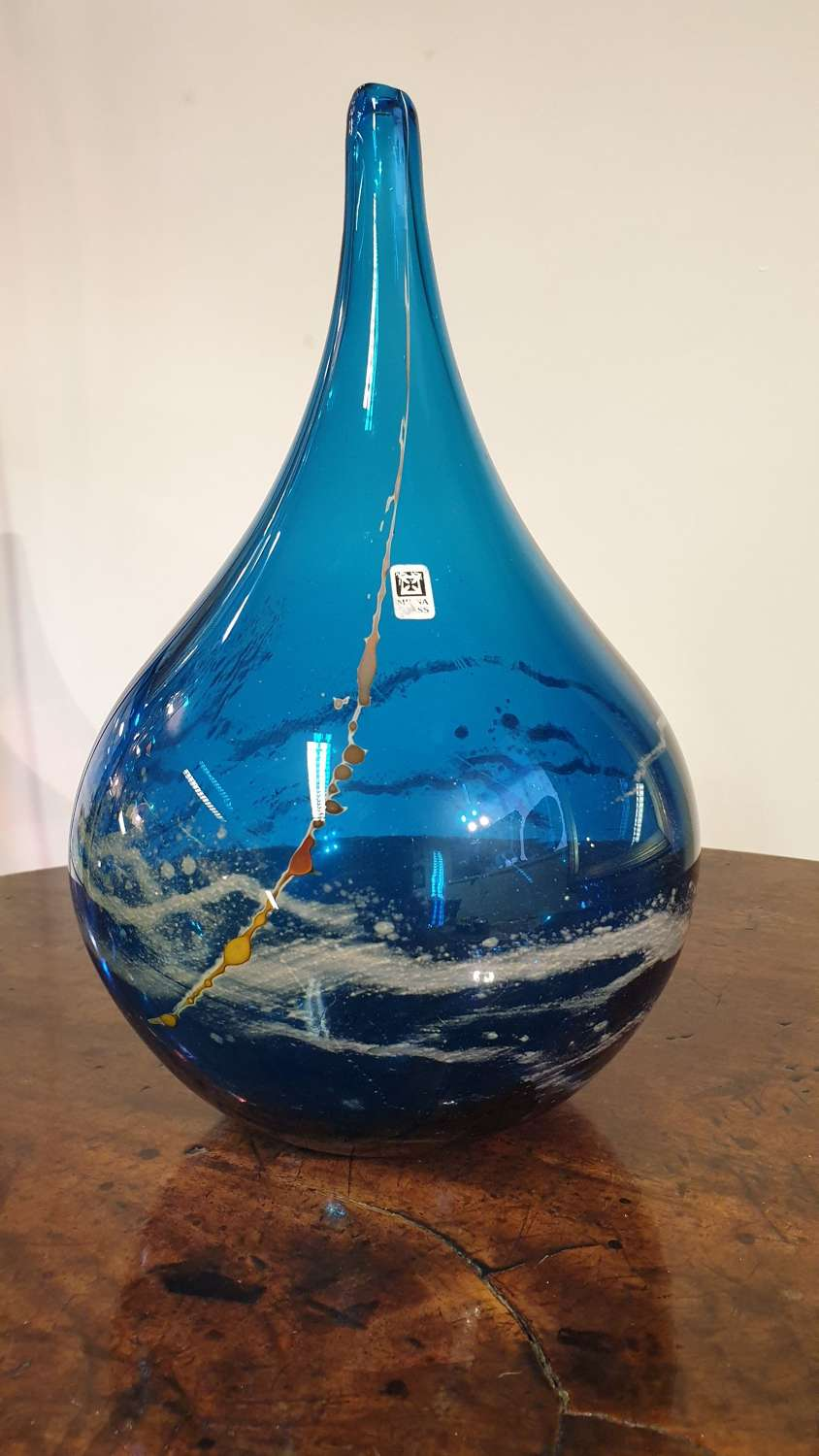 Mdina Glass 'Onion' Vase