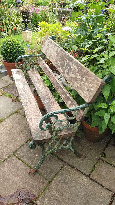 19th Century Garden Bench