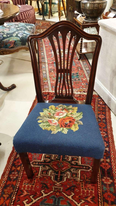 George III Mahogany Childs Chair