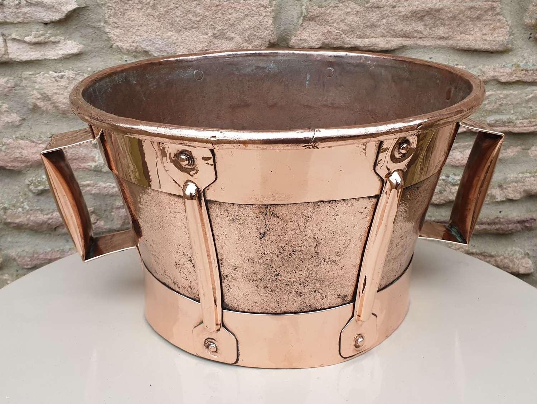 French 18th Century Copper Ferrat
