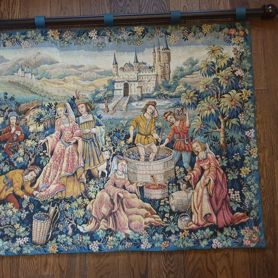 Colourful Mid 20th Century Tapestry/Wall Hanging