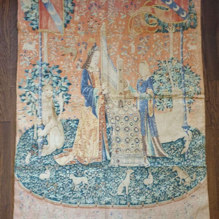 20th Century French printed Wall Hanging Tapestry