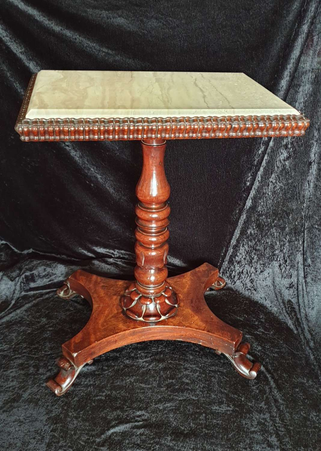 Exceptional William IV Occasional Table with Marble Top
