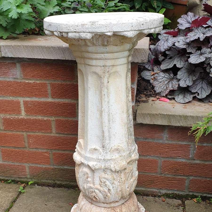 Stone Garden Column