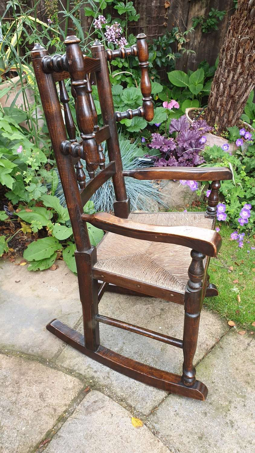 A good 19th Century Child's Rocking Chair