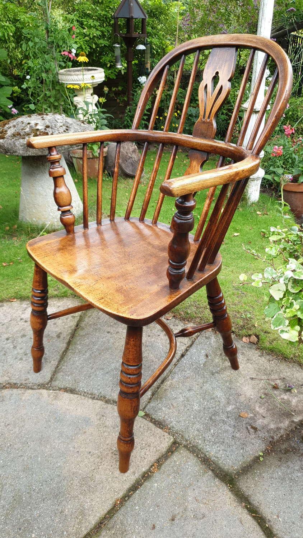 Early 19th Century George III Windsor Chair