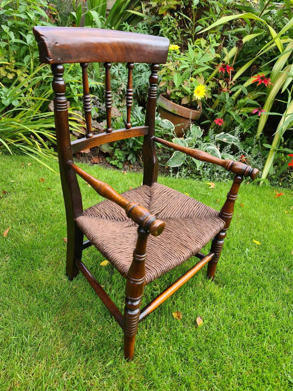 19th Century Victorian Child's Armchair