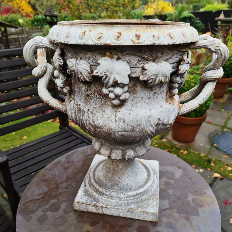 Early 19th Century Cast-iron Urn