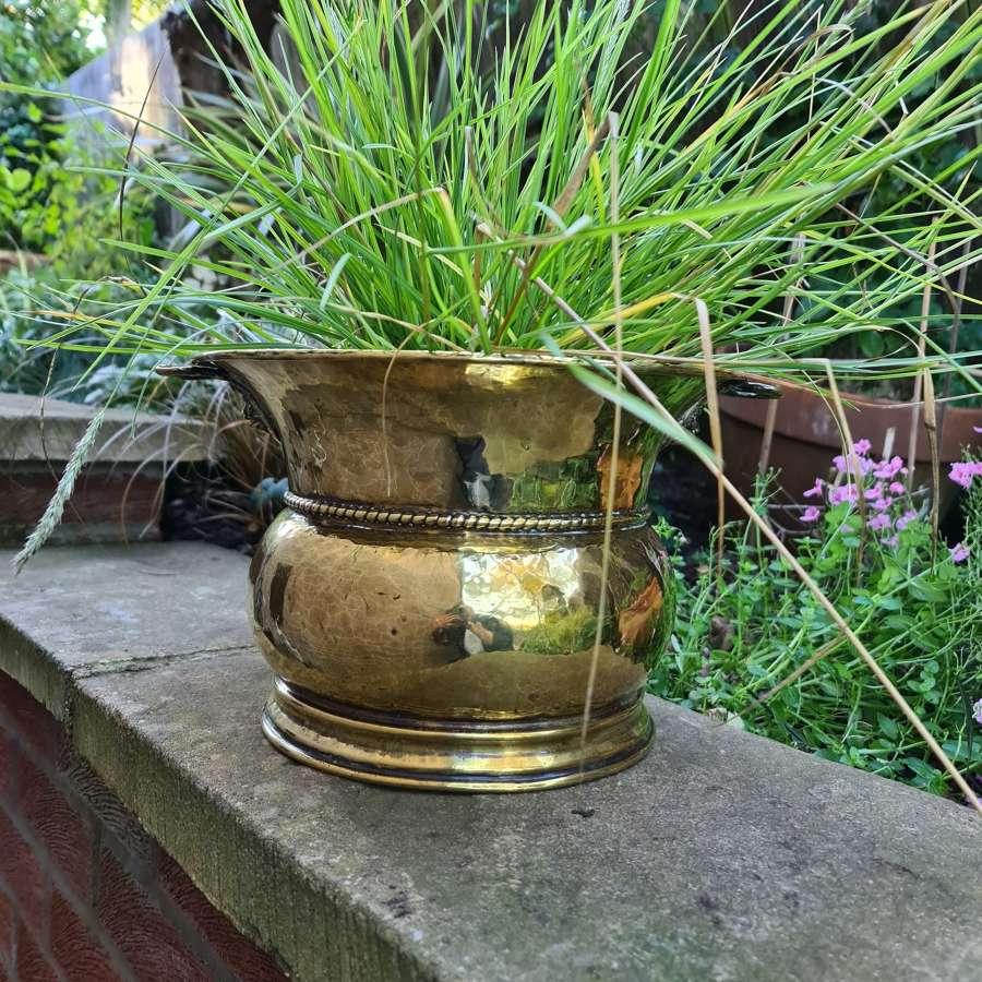 Handsome George III Brass Jardiniere