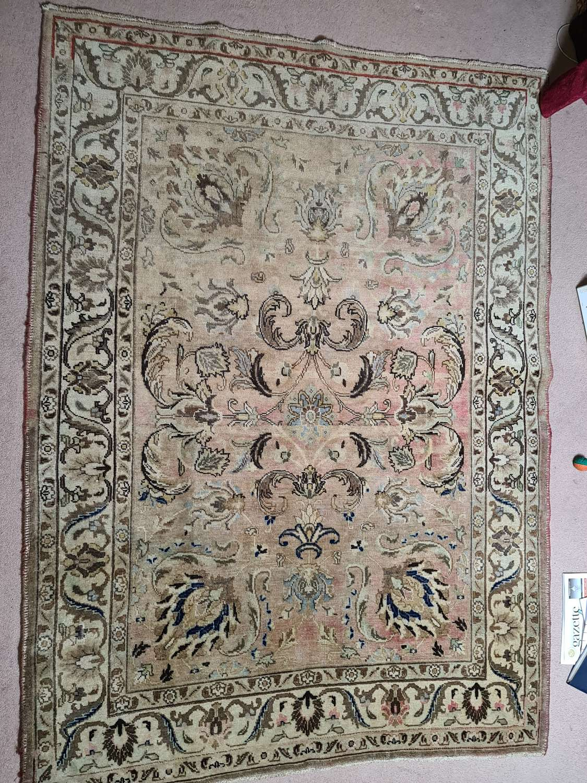 Excellent Vintage Tabriz Persian Rug