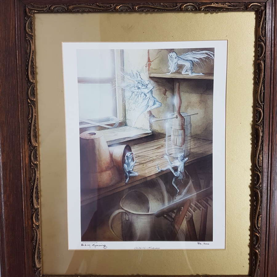 Limited Edition Print by B.E.M.Gowing.   Signed and Dated.