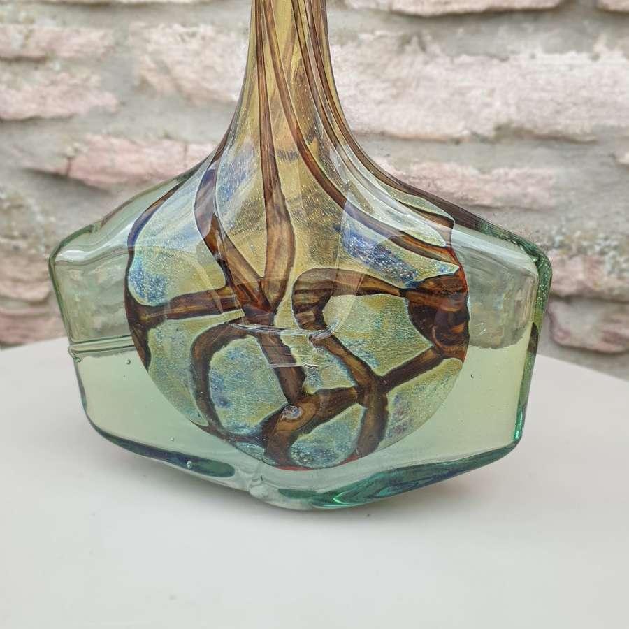 "Mdina Earth Tones ""Fish Vase"""