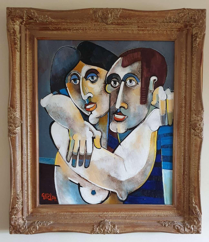 Oil on Canvas by Geoffrey Key