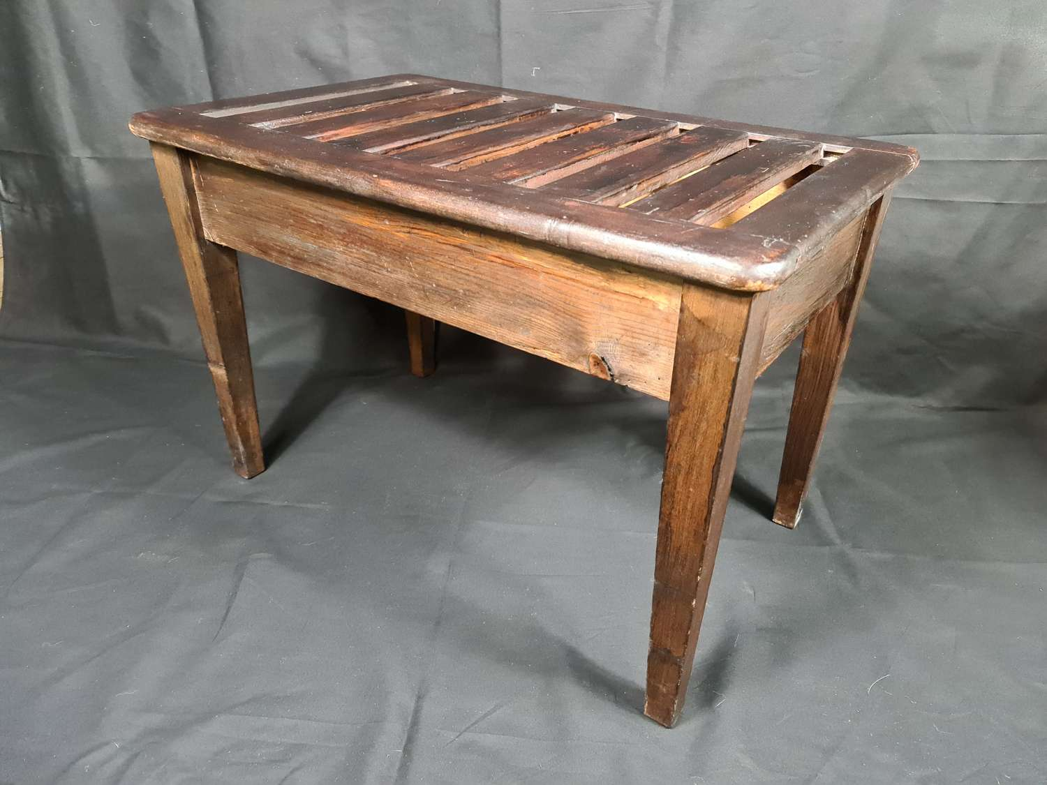 Antique Luggage Rack for Bedroom or Hall
