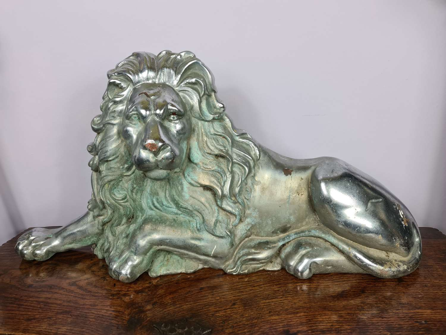 Interesting large Recumbent Lion Doorstop