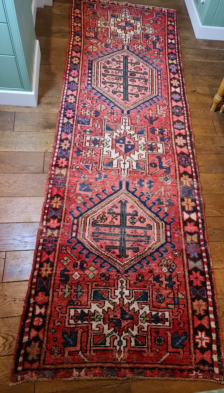 Wonderful Heriz Runner Circa 1900