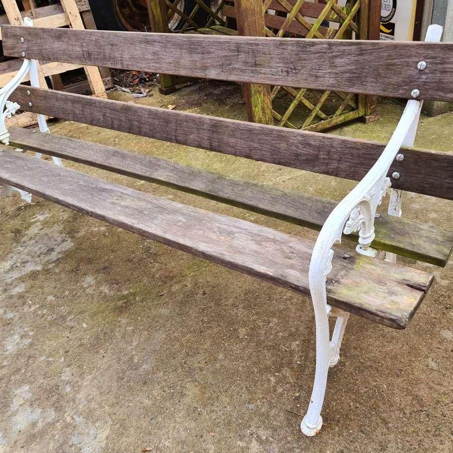 The Falkirk Seat - Rare Victorian Garden Bench.  c.1860.