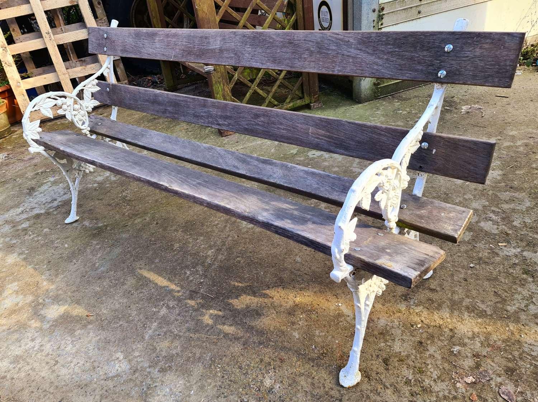 19th Century Scottish Garden Bench
