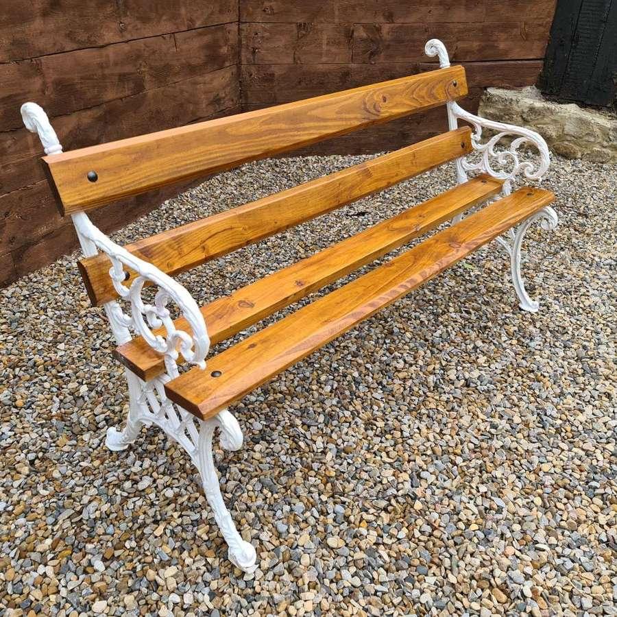 Quality Victorian Garden Bench