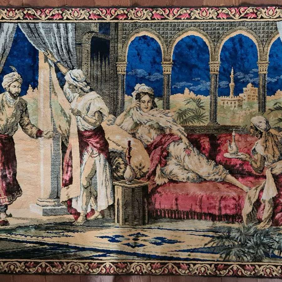 Richly Coloured Period Tapestry