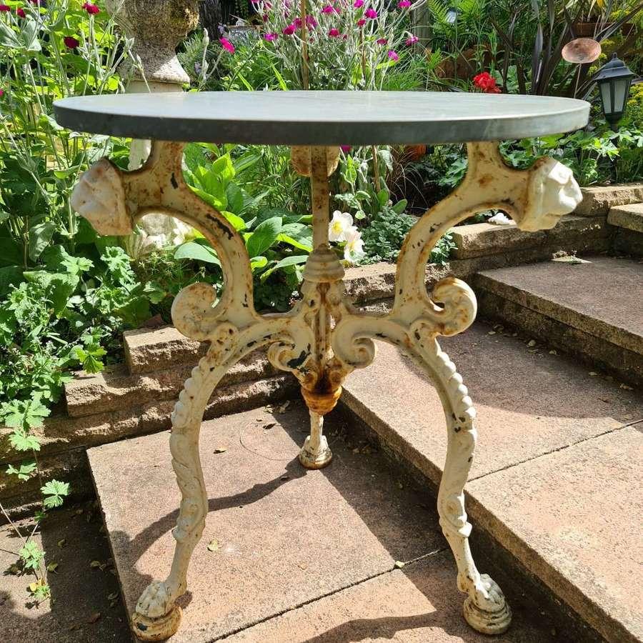Wonderful Cast-iron Garden Table rare Design