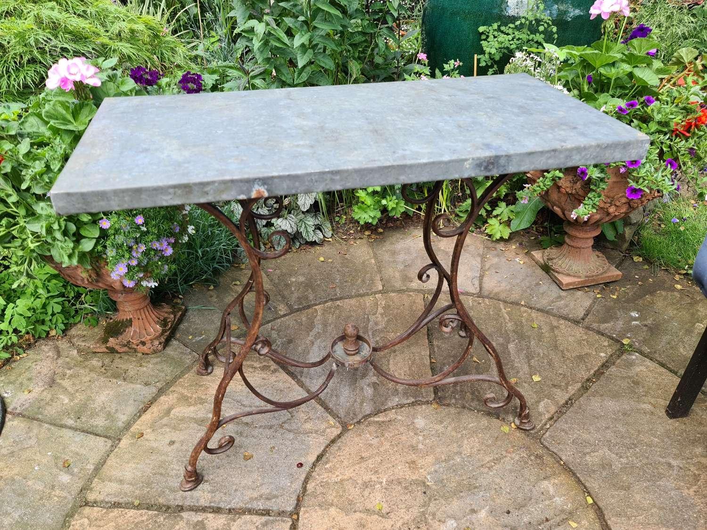 19th Century Arras Garden Table
