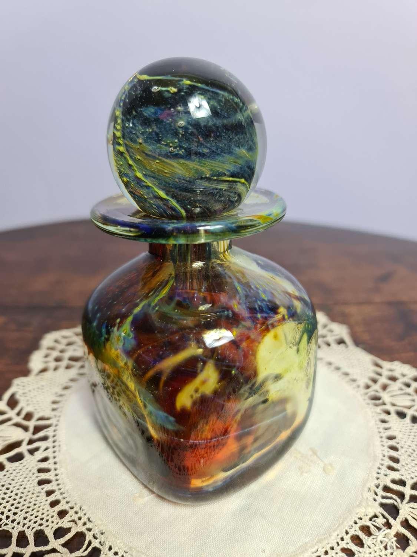 Mdina Glass square Ink bottle