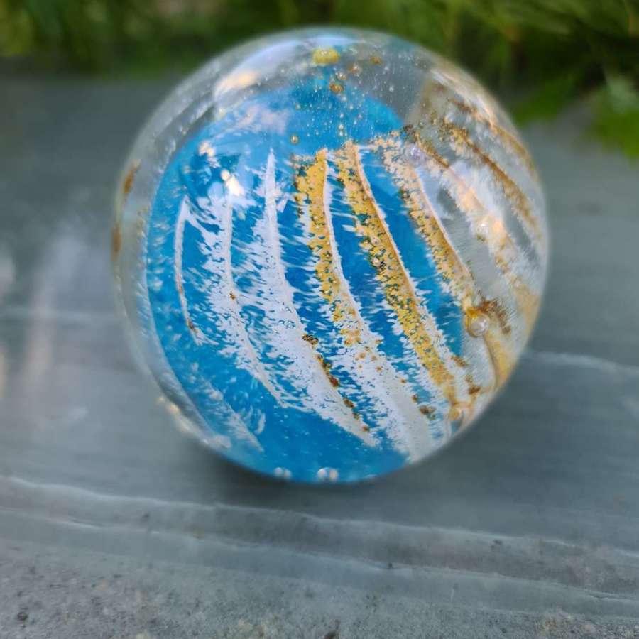 Isle of Wight Glass 'Sea Urchin' Paperweight